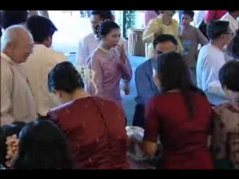 Lu Min & Khin Sabe Oo Wedding - Part 1.wmv video