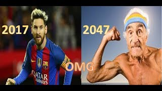 Current footballers photos in 30 years time! Featuring: Messi , Ronaldo