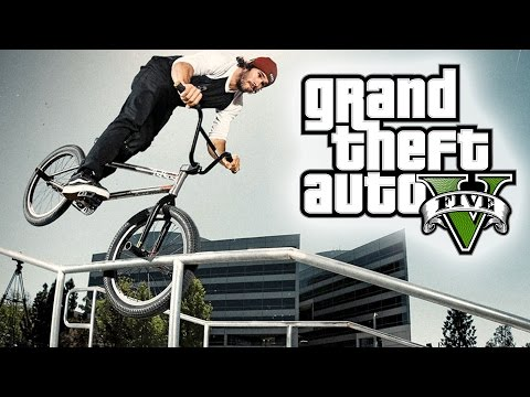 GTA 5 INSANE BMX STUNT MONTAGE! (GTA V STUNTS)