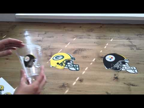 Superbowl Printable Vinyl Silhouette Cameo Print and Cut Project