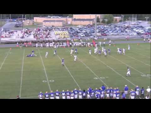 Taylor Wilson #2 Ben Lippen School Football Highlight