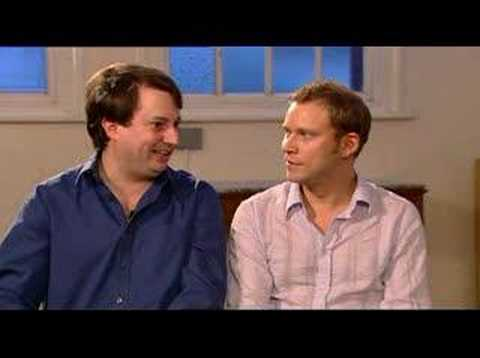 David Mitchell and Robert Webb interview-T4 (aired 22.10.06)