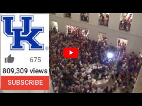 UK Student Flash Mob - University of Kentucky Library