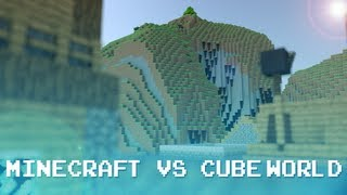Minecraft and Cubeworld Crossover