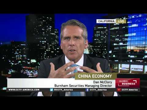 Dan McClory of Burnham Securities Inc on China economy