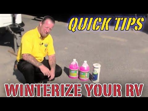 How To Winterize Your Camper | Pete's RV Service Tips