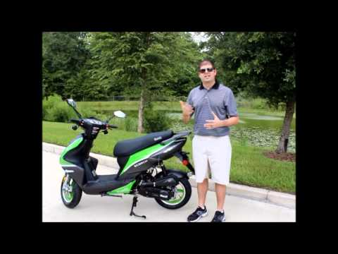Bintelli Scooters 49cc Scorch Motor Scooter Review