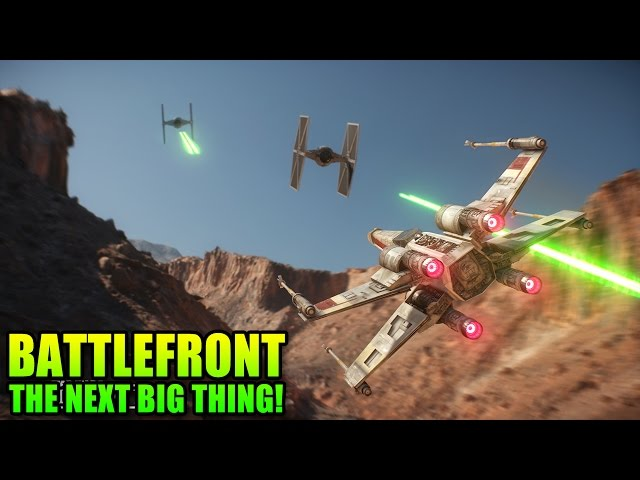 Star Wars Battlefront: 5 Min Gameplay Details - Take My Money!