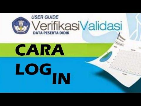 Cara Login Verval Peserta Didik atau Login di Verval PD | Tutorial Verval PD