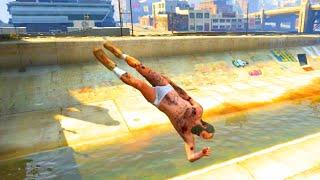 GTA V Unbelievable Crashes/Falls - Episode 11