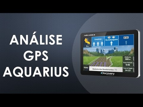 Analise GPS Aquarius Discovery Channel