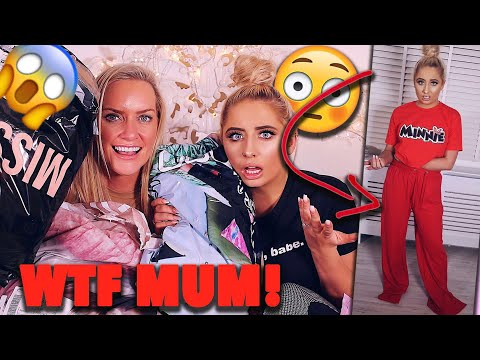 MY MUM BUYS MY OUTFITS FOR A WEEK CHALLENGE!!! *stripped bare*