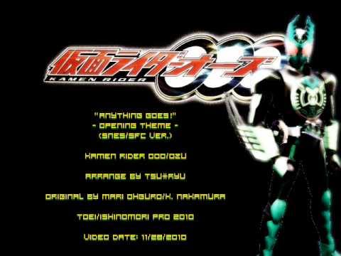 Tsu Ryu - Kamen Rider Ooo - Anything Goes! (snes sfc Ver.) video