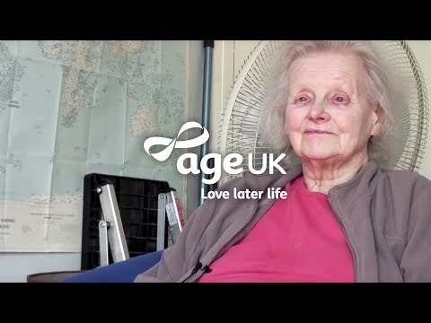 Older people talk about how frailty can lead to loneliness and isolation