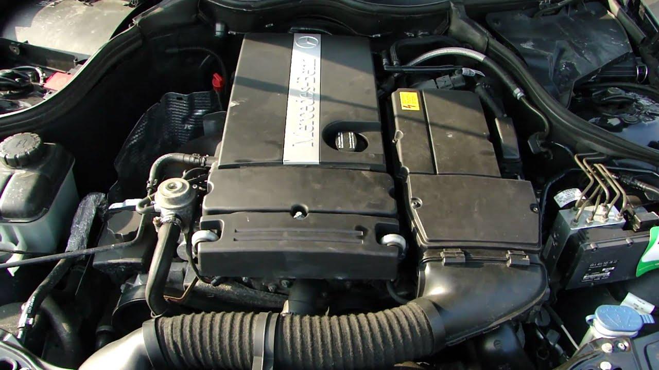 Mercedes benz c200 kompressor m271 twinpulse failure for Mercedes benz kompressor engine
