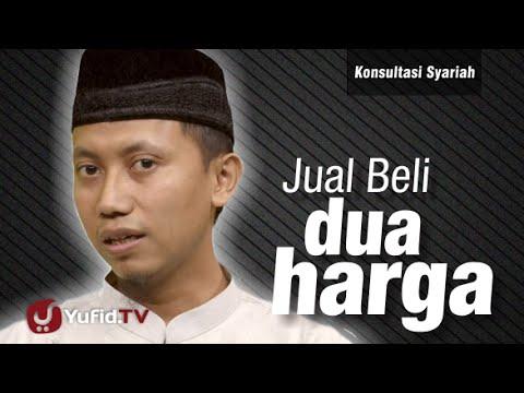 Konsultasi Syariah : Jual Beli Dua Harga - Ustadz Ammi Nur Baits
