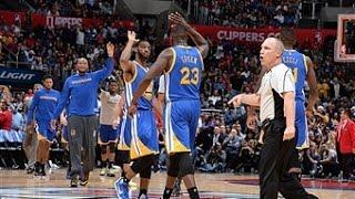 Warriors Erase 23 Point Deficit in Los Angeles