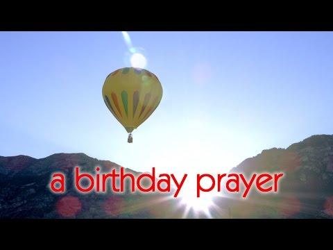 A Birthday Prayer Message