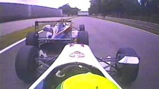 Barton Mawer crashes British F3 at Monza 2005