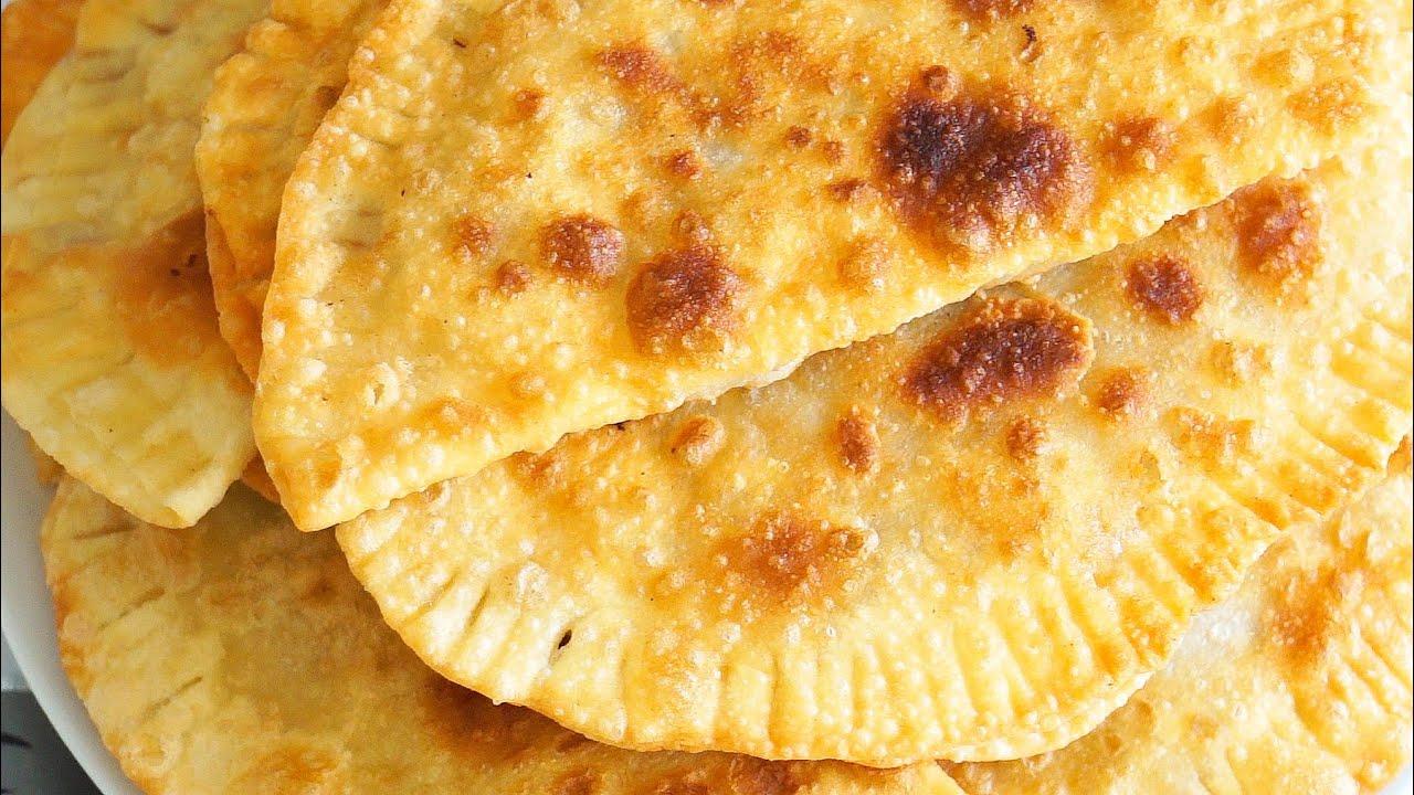 Рецепт теста на чебуреки на кефире с пошагово
