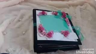 Wedding Handmade Floral Album/Scrapbook/Wedding Gifts/Pastel Color/Creative DIY Ideas