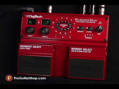 Digitech HM2 HarmonyMan Intelligent Pitch Shifter