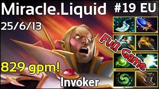 Miracle [Liquid] Invoker - Dota 2 Full Game 7.17