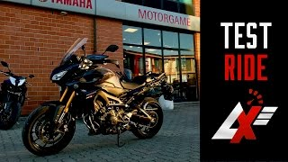 Yamaha MT-09 Tracer TEST RIDE