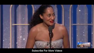 Tracee Ellis Ross(Best Actress ) Speech  at the golden globes 2017 in a TV Series, Comedy