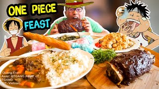 How to cook a ONE PIECE FEAST