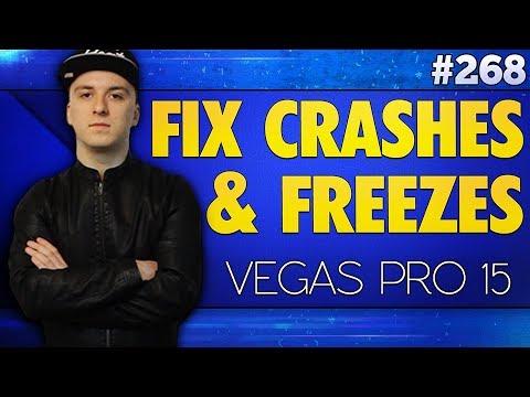 Vegas Pro 15: How To Fix Crashes & Freezes - Tutorial #268