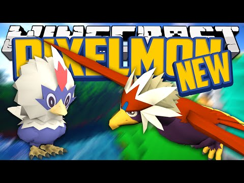 Minecraft Mods NEW Pokemon! Pixelmon Mod Showcase! (Pokemon in Minecraft) Rufflet Line [1.7.10]