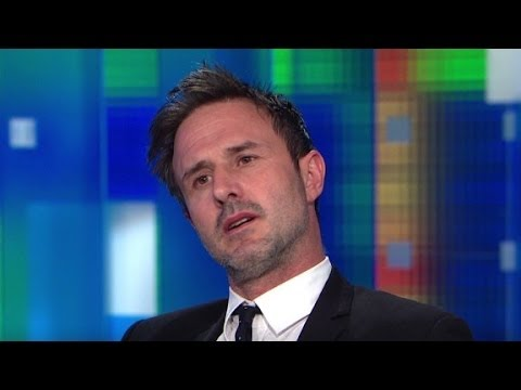 "David Arquette: ""I am a bit of a wild man"""
