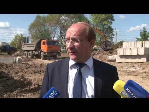 Как строят школу в Московском микрорайоне