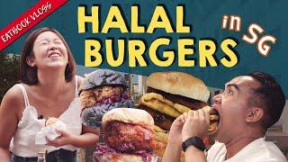 HALAL BURGER JOINTS INCLUDING A RAMLY CAFE | Eatbook Vlogs | EP 104