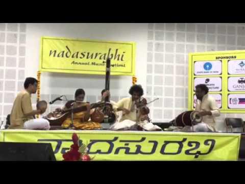 Dr.Mysore Manjunath-Dr.Jayanthi Kumaresh Violin Veena Duet