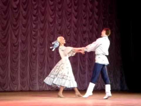 """лирический танец """"Сибирский подснежник"""""""