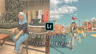 Cara Edit Foto Seperti @NABILAZIRUS - Lightroom Mobile Tutorial