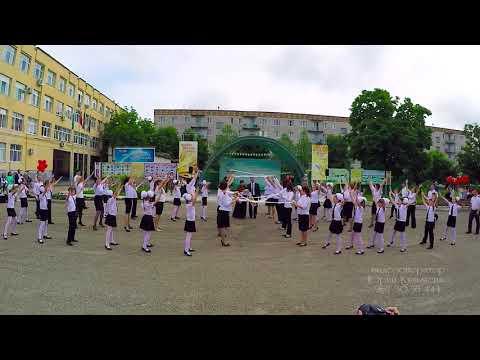 Класс!!! Танец родителей и выпускников НОШ 40 на последний звонок 2016