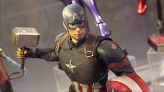 Mjolnir & Broken Shield! Hot Toys- Avengers: Endgame -Captain America Prototype@Endgame Event HK