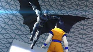 Batman VS Goku EPIC BATTLE!