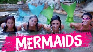WE BECAME MERMAIDS!? (Beauty Trippin)