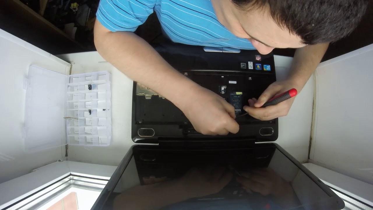 Ремонт ноутбука тошиба l300 своими руками