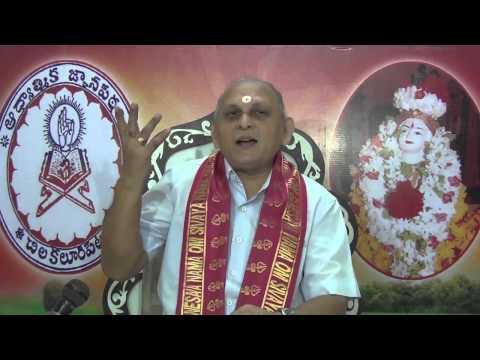 """""""Upadesa Saram"""" Of Bhagavan Sri Ramana Maharshi : Day 15 :Shlokam 25  26 : Sri Chalapathirao"""