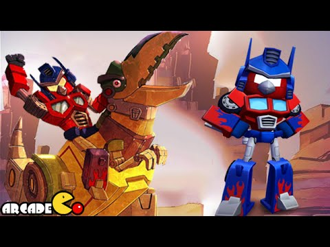 Angry Birds Transformers: Telepods Grimlock Auto Birds Gameplay Part 52 video