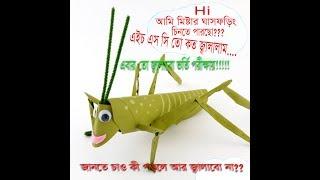 Admission Preparation - Biology 2nd Chapter 2 Animal's Identity Grasshopper 3
