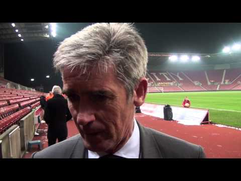 Alan Irvine evaluates West Bromwich Albion's 2-0 defeat by Stoke City
