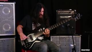 JD DeServio Jams Through Hartke's Kickback KB12 Bass Combo