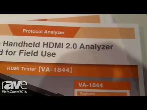 InfoComm 2016: Astrodesign Showcases Their Portable Handheld HDMI 2.0 Analyzer for Field Use