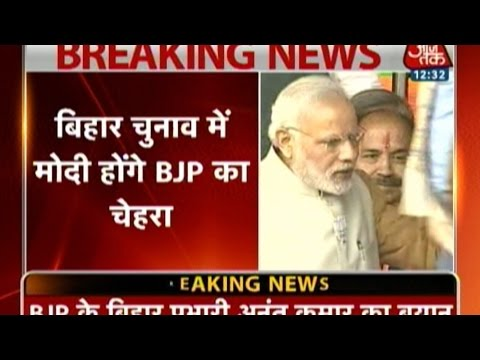 Narendra Modi To Be BJP's Face For Bihar Election